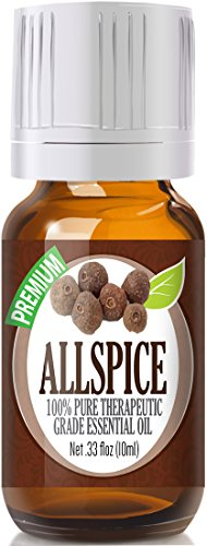 Allspice 100% Pure, Best Therapeutic Grade Essential Oil - 10ml