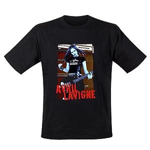 Avril Lavigne T-Shirt fille Blue Photo (S) - Amazon.com Music