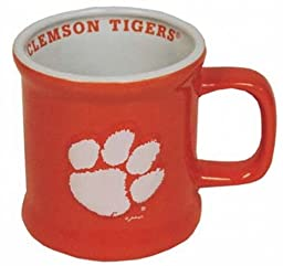 NCAA Clemson Tigers Mug Ceramic Relief