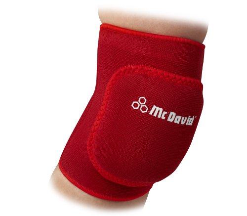 McDAvid, Ginocchiere 601 JUMPY, Rosso (red), XS