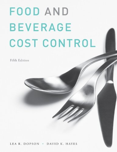 Study Guide to Accompany Food and Beverage Cost Control,...