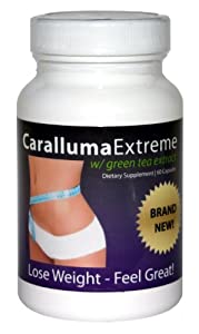 Caralluma Extreme® - America's Favorite Appetite Suppressant and Fat Burner Weight Loss Supplement (60 Caps)