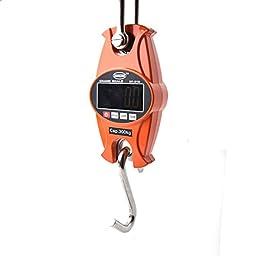 300 Kg / 600 LBS Digital Hanging Scale Industrial Crane Scale