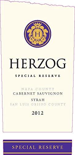 2012 Herzog Special Reserve California Cab / Syrah 750 Ml