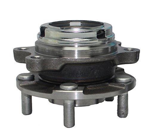 Detroit Axle Front Driver or Passenger Side Complete Wheel Hub and Bearing Assembly for Nissan Murano Quest w/ABS (Nissan Quest 2004 Wheel Bearing compare prices)