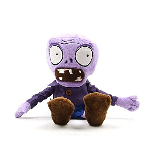 """Plants Vs Zombies Plush Purple Zombies 11"""" / 28cm Doll Stuffed Animals Figure Soft Anime Collection Toy"""