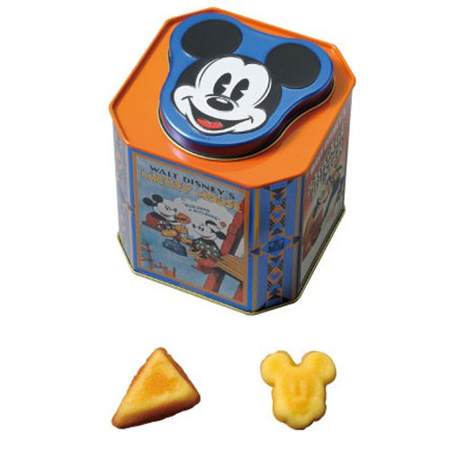 ミッキーマウス 缶入りアソーテッド・スウィーツ マドレーヌ チーズケーキ お菓子【ディズニーリゾート限定】