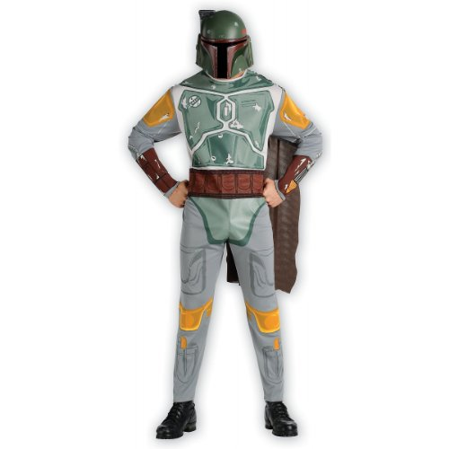 Boba Fett Costume - Standard - Chest Size 40-44