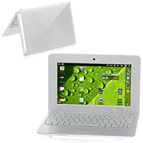 W40 10.1 Inch Wide Screen Windows Ce 6.0/google Android 2.2 Via8650 800mhz Notebook