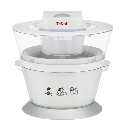 T-fal IG4000 Ice-Cream Maker, 1-Quart, White (T Fal Yogurt Maker compare prices)