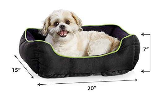 Collegiate-Pet-Bed-Pet-Bed-Cat-Bed-Dog-Bed-Team-Fan-Pet-Bed-Comfortable-Pet-Bed