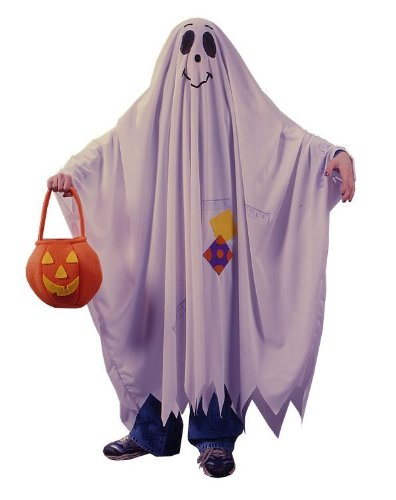 Fun World Friendly Ghost Child Costume Medium (8-10)