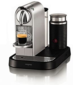 Nespresso CitiZ Metal and Milk by Magimix M190 Silver Chrome