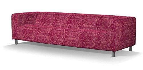 FRANC-TEXTIL 664–143–06Klippan 4–rivestimento per divano, Mirella, bordeaux