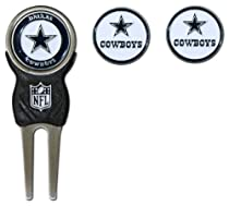 NFL Dallas Cowboys Signature Divot Tool and 2 Extra Markers