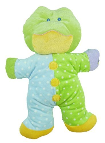 "Baby Ganz 12"" Plush ""Snuggles"" Frog Rattle"