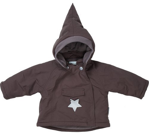 mini a ture Winterjacke Baby Wang - dark coffee - Größe 68 - SALE