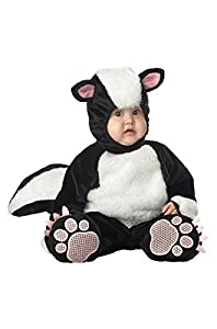 InCharacter Costumes Baby's Lil' Stinker Skunk Costume, Black, X-Small