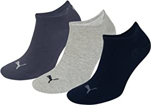 Puma Invisible Sportive Sneaker Sock - Nightshaddow Blue, UK 6-8