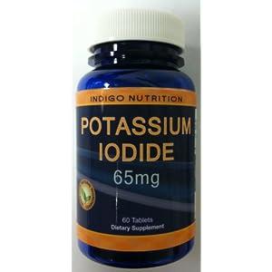 Formula for potassium iodine
