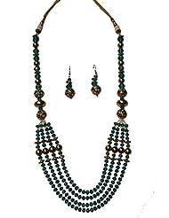 Bhagavathi Pearls Fashion Jewellery Antique Necklace Set