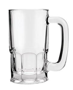 anchor hocking pint glass beer mugs with handles beer. Black Bedroom Furniture Sets. Home Design Ideas