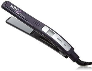 """Remington  Wet 2 Straight 1"""" Slim Plate Wet/Dry Ceramic Hair Straightening Iron with Tourmaline"""