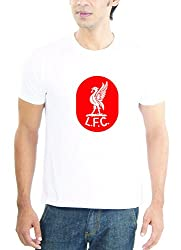 LaCrafters Mens Tshirt - Football - Liverpool Collection_White_XL