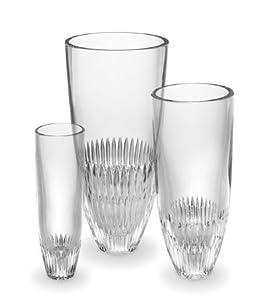 Vera Wang Crystal Chime Vase - 10in