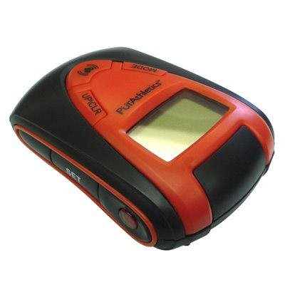 Cheap Pulse Pedometer in Red and Black (WTE10224)