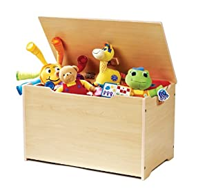 Tot Tutors Toy Box, Natural