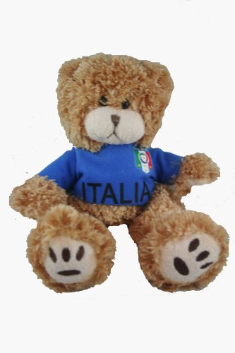"Details for Italia Italy Fifa Soccer World Cup Big 18"" LARGE Jersey Bear.. Great Quality .."