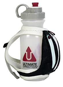 Ultimate Direction Fastdraw Plus Hand-held Bottle, Black, 20-Ounce