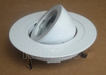4 Inch Recessed Ceiling CAN Light 12V MR16 Adjustable Ring Gimbal Trim