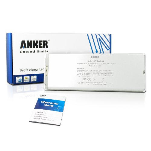 Anker® New Laptop Battery for Apple A1185 1185 A1181 Macbook 13