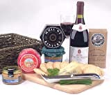 #10: Wine, Cheese and Pate Hamper - Hampers and Gift Baskets