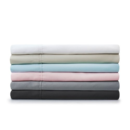 Malouf Fine Linens® 100% Brushed Microfiber Super Soft Luxury Bed Sheet Set - Wrinkle Resistant,Stone, King
