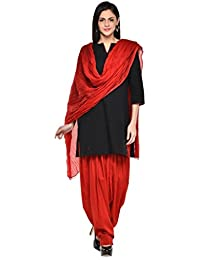Kismat Collection Women's Pure Cotton Printed Patiala & Duppta Sets (Free Size) - B01L6SGMME