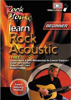 Learn Rock Acoustic - Beginner Level