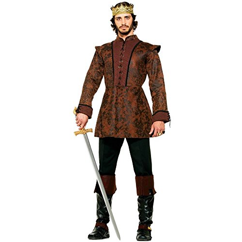 Medieval King's Coat Adult Costume - Standard