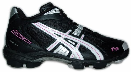 Asics Lacrosse Shoes Gel-V Cut MT Women 9001 Art. P956Y size UK 7.5