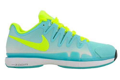 41qnribwkll. Nike Womens Zoom Vapor 9.5 Tour Tennis Shoes Light Aqua/Volt  ...