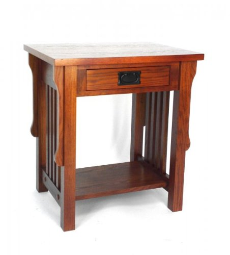 Cheap wayborn furniture 9070 night stand nightstand oak for Inexpensive night stands