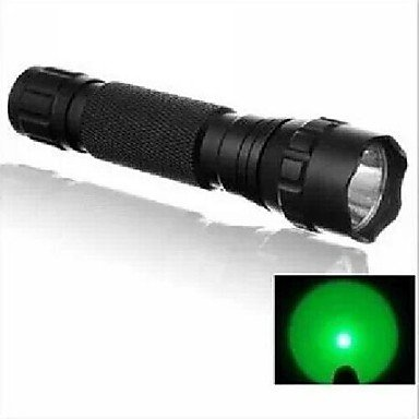 Ship In 24Hours Ultrafire Wf-501B Hunting Flashlight 1-Mode Cree Q5 Led Flashlight Hunting Search Green Light (240Lm, 1X18650,) , Green