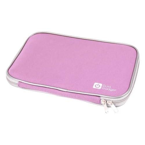 "DURAGADGET ソニー(VAIO) SONY VAIO Duo 11(11.6型タッチ) SVD11239CJB, アップルAPPLE MacBook Air 1.3GHz Dual Core i5/11.6""/4GB/128GB MD711J/A & 11"" MacBook Air & APPLE MacBook Air 1.7GHz Core i5/11.6/4GB/128GB MD224J/A専用 11.6インチ防水・衝撃に強いキャリーケース ピンク"