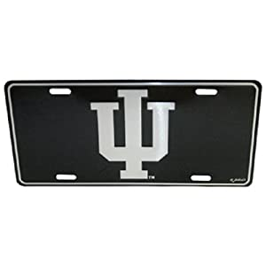 Buy Indiana Hoosiers Elite License Plate by Saddle Mountain Souvenir