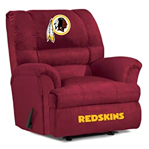 NFL Washington Redskins Big Daddy Microfiber Recliner by Imperial