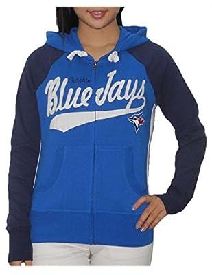 MLB TORONTO BLUE JAYS Womens Athletic Warm Zip-die / Jacket