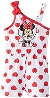 Disney Baby Baby-Girls Newborn Minnie Mouse Romper with