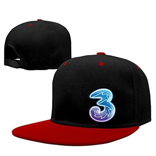 mysterie-three-uk-red-casual-men-cap